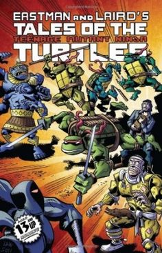 Kevin Eastman – Tales of the Teenage Mutant Ninja Turtles Volume 1 #ninja