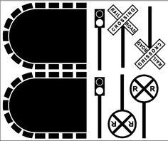 Train Track add-ons Wall Art Train Tunnel Decals Stickers Decor