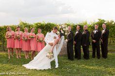 Brent and Carole's beautiful military vineyard wedding