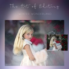 "This will be a one image webinar in Photoshop.Turn your images into a winter wonderland using ""The Innocence Collection"" an action set built around my personal workflow along with hand editing. I will take you through my complete process, from retouch to toning"