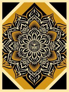 """Lotus Diamond"" - Shepard Fairey"
