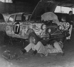 Peugeot 404 winner Safari Rally 1968