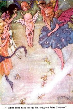 "Never Come Back Till You Can Bring the Fairy Treasure; The Wee Little Cupid & the Magic Stardust from ""Little Folks - The Magazine for Boys and Girls"" - London: Cassell and Co., Ltd., 1915."