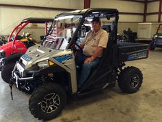 Congratulations to Terry Sanford from Ellisville, MS for purchasing a 2017 Polaris Ranger XP 900 from Hattiesburg Cycles. #polaris