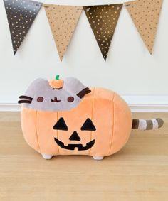 Exclusive Pumpkin Pusheen plush toy
