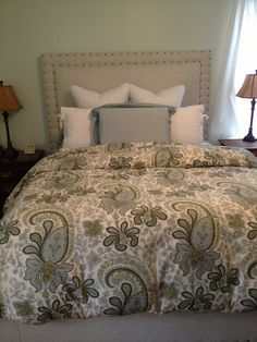 I Like To Change Out Linens With The Seasons These
