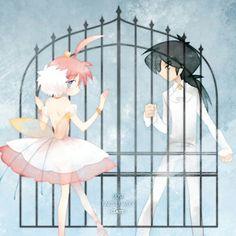 Princess Tutu and Fakir by the gate Manga Anime, Manga Art, Anime Art, My Little Monster, Little Monsters, Princess Tutu Anime, Princesa Tutu, Japanese Animated Movies, Disney And More