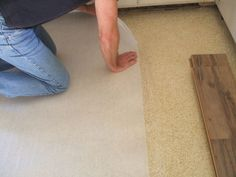Why do you need underlayment when installing laminate flooring? Get the facts. Best Flooring For Basement, Waterproof Laminate Flooring, Installing Laminate Flooring, Oak Laminate Flooring, Soft Flooring, Vinyl Plank Flooring, Diy Flooring, Flooring Ideas, Basement Subfloor