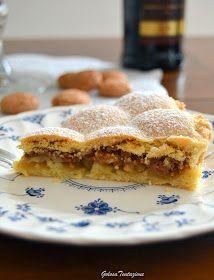 GOLOSA TENTAZIONE...: Torta Luisa Apple Pie, Sweet Recipes, Feta, Cooking, Desserts, Cakes, Fantasy, Kitchen, Tailgate Desserts