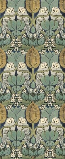 a Pin In It William Morris, Owl Pattern. Wm Morris was a renaissance man in the best sense of the word. What a guy! Love his stuff. Wm Morris was a renaissance man in the best sense of the word. What a guy! Love his stuff. Owl Patterns, Textile Patterns, Print Patterns, Textiles, Pattern Print, Knitting Patterns, Owl Wallpaper, Pattern Wallpaper, Vintage Wallpaper Patterns