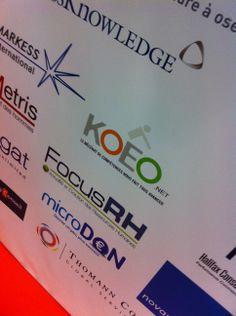 """KOEO présente le mécénat de compétences aux DRH pendant le HR Speaks 2013, le """"TED"""" de la fonction RH ! - novembre 2013"""