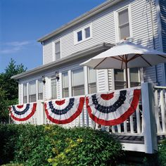 American Flag Bunting.