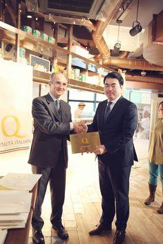 Premiazione Ristoranti Italiani nel Mondo, Seoul, gennaio 2015