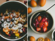 Cranberry and Kumquat Sauce and A Thanksgiving Cocktail - A Thought For Food