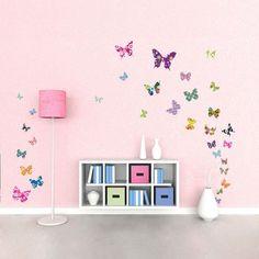 Quarto borboletas - inspirações