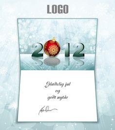 ekortet.dk leverer danmarks flotteste elektroniske julekort til virksomheder. På billedet: Julekort med logo. Sne og juletræskugle. Ekort, e-kort, e-julekort, ejulekort, elektroniske julekort, ecard, e-card, firmajulekort, firma julekort, erhvervsjulekort, julekort til erhverv, julekort med logo, velgørenhedsjulekort, julekort
