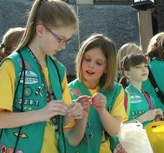 junior Girl Scout badge activity ideas for our meetings