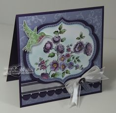 LW Designs: Stamp Set - Elements of Style whisteria wonder elegant eggplant