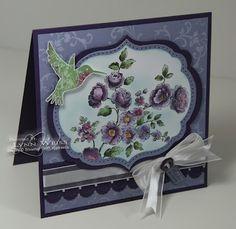 LW Designs: Stamp Set - Elements of Style whisteria wonder elegant eggplant