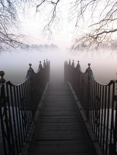 Fog Bridge, Twickenham, England