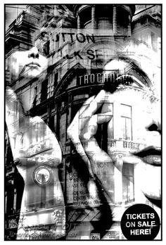 Daniel Fojt - Glamour - London Montage  Series