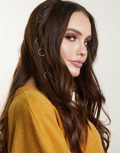 Simple Hair Rings - Hair Charms - Hair Rings For Braids - Hair Jewelry – 2020AVE hair hoops, hair fashion, fashionable rings, fashion, womens fashion, fashion accessories, braided fashion, simple fashion, dainty fashion, easy fashion, every day style, cute looks, fun looks, everyday fashion