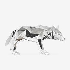 Geometric Dog Sculptures by Arran Gregory