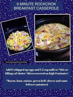 Easy pampered chef recipe in the rockcrok! http://new.pamperedchef.com/pws/734781nikkidean4pc