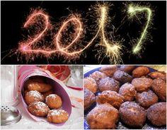 Beignets de Nouvel An / Beignet for New Year's Day - 0-gluten VegeBrest 2 #recettes _ 2 #recipes  @OneGreenPlanet @SaytheVword #auvertaveclili  @Mj0glutenVG #0GlutenVegeBrest  #sansgluten #glutenfree #glutenvrij #vegan #oliebollen #Beignet #NouvelAn #NewYear