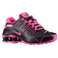 Nike Shox NZ - Women's - Black / Pink
