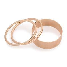 Gold Chunky Bangle Set - Sale   YDE South African Fashion, Bangle Set, Bracelets, Gold, Accessories, Jewelry, Jewlery, Jewerly, Schmuck