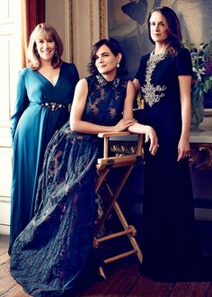 The ladies of Downton Abbey Phyllis Logan, Downton Abbey Movie, Elizabeth Mcgovern, Dowager Countess, Tv Shows Funny, Lady Mary, Actors & Actresses, Hollywood, Celebs