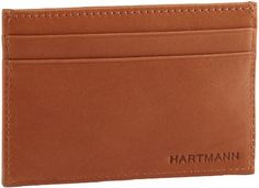 Hartmann Belting Leather Calling Card Case,Natural,One Size Hartmann. $30.00. 2 credit card pockets on each side. Ultra-durable belting leather. leather. Center credit card pocket. Leather. Made In China
