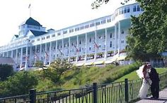 """Love Mackinac Island, love the hotel, love the movie """"Somewhere in Time"""", which was filmed there with Christopher Reeve and Jane Seymour!"""