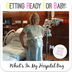 Getting Ready for Baby: Part 1 -- What's In My Hospital Bag | More Skees Please