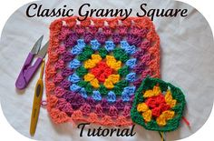 Ravelry: The Classic Granny Square pattern by Danielle Alinia