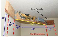Various creative ideas for mounting a hangboard. Bouldering Wall, Outdoor Gym, Rock Climbing Gear, Home Climbing Wall, Rock Climbing Training, Climbing Workout, Climbing Holds, Keller, No Equipment Workout