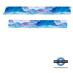 Masté Aurora Washi Tape  Wide 20mm x 7m  Beautiful by MindtheWrap