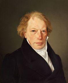 Portrait by Wilhelm Bendz (Danish 1804-1832)
