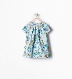 Image 1 of FLORAL JACQUARD DRESS from Zara