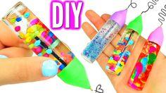 DIY lava, glitter, orabeez pen!