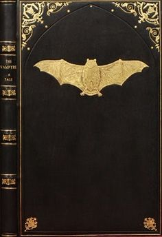The Vampyre decorated book cover