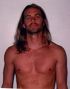 Picture of Paul Walker Never saw him with long hair, OMG SHEER BEAUTY RIH