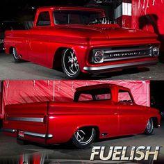 This 65 is built by photos by 1966 Chevy Truck, Big Ford Trucks, Custom Pickup Trucks, Classic Pickup Trucks, Chevy Pickup Trucks, Chevy C10, Gm Trucks, Chevy Pickups, Chevrolet Trucks