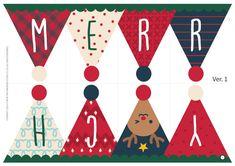 [크리스마스 가랜드 만들기] 메리크리스마스 깃발 가랜드! – 보블리 Diy Christmas Cards, Christmas Clipart, Christmas Printables, All Things Christmas, Holiday Crafts, Christmas Holidays, Christmas Decorations, Xmas, Merry Christmas