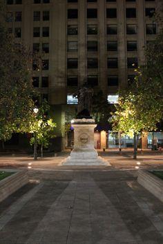 Paseo nocturno por #Santiago #Chile #night