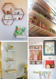 Diy Monday Shelves Room Decorbedroom