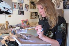 Meet 'thread painter' Emily Tull, who uses a needle as her paintbrush and threads as her paint to create extraordinary works of art. Modern Crafts, Contemporary Embroidery, Thread Painting, Textiles, Botanical Illustration, Crafts To Do, Fabric Art, Art World, Textile Art