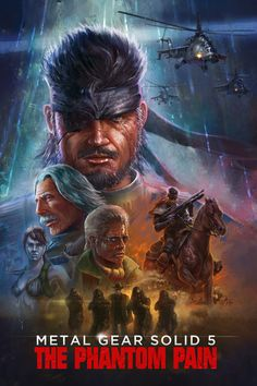 Metal Gear 5 Videogame Poster