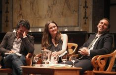 Mark Ruffalo, Emily Mortimer, and Alessandro Nivola